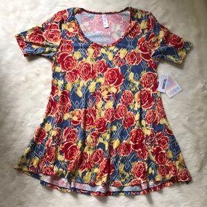 Lularoe Rose Perfect T shirt NWT $48 size XXS